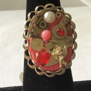 OOAK steampunk ring